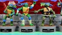 Teenage Mutant Ninja Turtles History Of Leonardo 30 years Of TMNT Leo Vs. Shredder Krang Dog pound