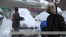 Hautes-Alpes: 70 cm de neige la nuit passée à Montgenèvre