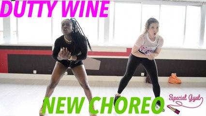 DUTTY WINE DANCEHALL CHOREO - AYA & MAYLEE - QUEEN'STONN
