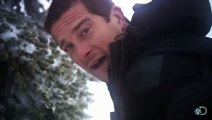 Bear Grylls Warms Up with Pee Bear Grylls Escape From Hell Discovery Channel
