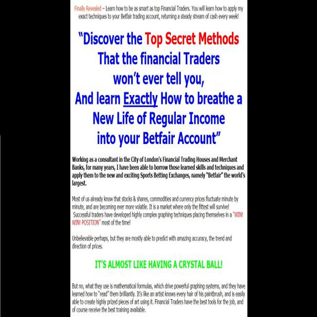How To Become A Successful Betfair Trader Guide, Download – Mama