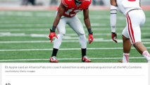 [Newsa] Ohio State CB Eli Apple says Atlanta Falcons coach asked him if he liked men
