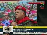 Diosdado Cabello: Hugo Chávez vive en el pueblo venezolano