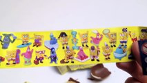 Surprise eggs Winx Club and SpongeBob Kinder Surprise Chocolate Eggs Unboxing lababymusica