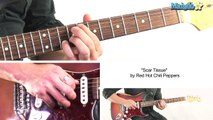 How to Play Scar Tissue by Red Hot Chili Peppers on Guitar