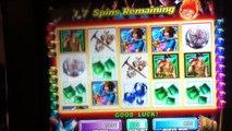 HOT HOT PENNY GEM HUNTER Penny Video Slot Machine BONUS RETRIGGERED and NICE WIN Las Vegas