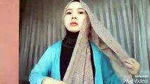 Cara Memakai Hijab Pashmina Cantik Untuk Acara Santai l Trend Hijab 2016
