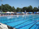 Swim Meet At Shelby Park, Shelby,N.C.