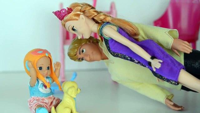 Anna Frozen deixa Gabriel ficar uma Noite com Cachorrinho Pituxinho!!! Em Portugues [Parte 4]