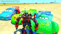 Disney cars and Superman Optimus Prime Hulk Carla Veloso Green Lightning McQueen Raoul Car