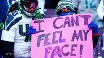 Minnesota Vikings Fan Chugs Frozen Beer