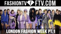 London Fashion Week Fall/Winter 2016-17 pt. 1 | FTV.com