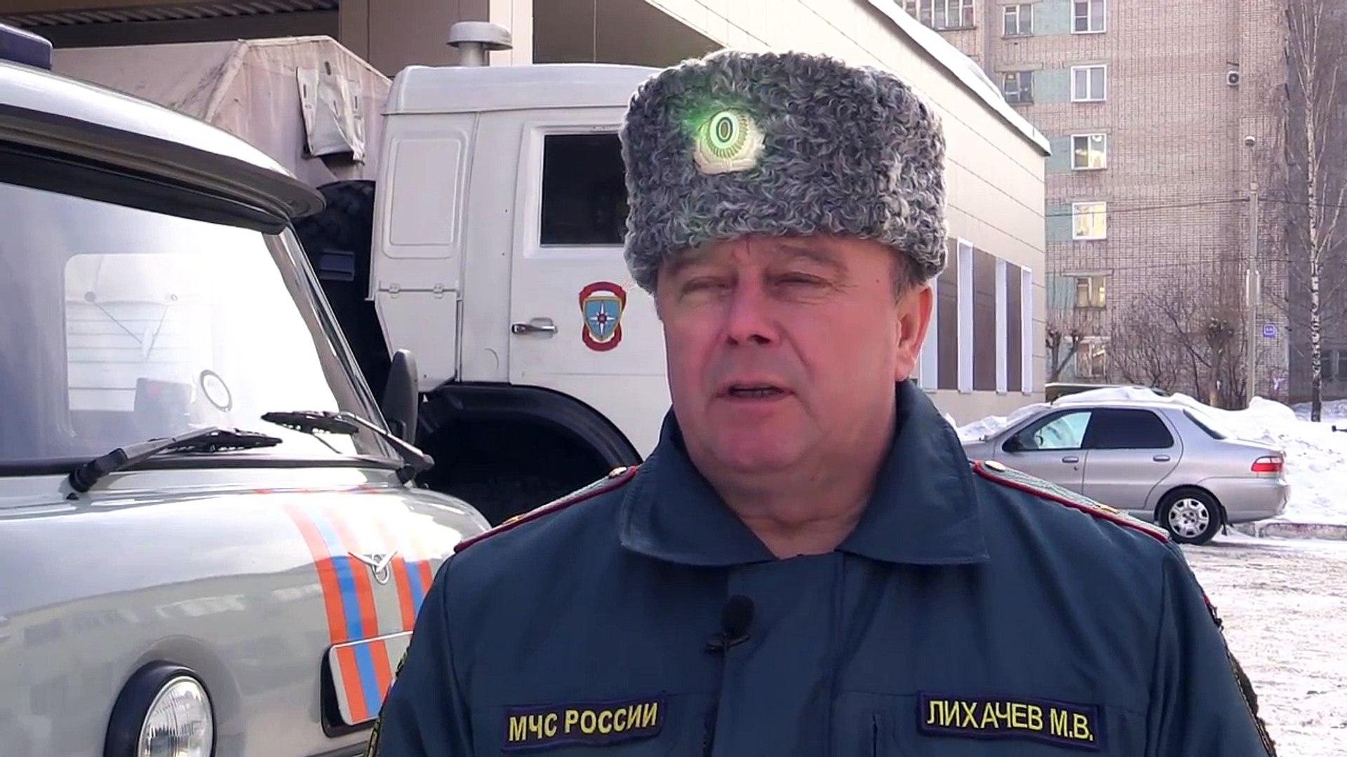 Начальник ГУ МЧС России по Кировской области  Михаил Лихачёв