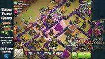 Clash of Clans Town Hall 8 Gowipe Three Star Clash Clan War Wins