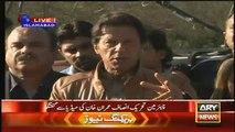 Imran Khan Media Talk - Tells Action Against NAB & Pak India Match & Nawas Sharif