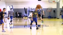 KNBR Quick Hits Steph Curry has a new shooting drill