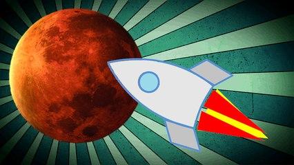 Mars à 3 jours de la Terre