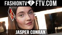 Jasper Conran Makeup at London Fashion Week F/W 16-17 | FTV.com