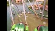 Hulk Ride Universal Orlando Roller Coaster Ride POV Island of Adventure
