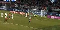 NEC Nijmegen 1-0 Heracles Christian Santos Amazing Goal