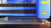Han's Laser Cutter Demo - Stainless Steel Breakpoint Return -with High Power IPG Fiber Laser