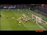1-1 Mitchell te Vrede Goal Holland  Eredivisie - 06.03.2016, Feyenoord 1-1 SC Cambuur