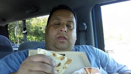 Taco Bells Cantina DOUBLE STEAK QUESADILLA REVIEWED!!