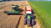 John Deere T560 van Landbouwbedrijf Buijs in de wintertarwe Trekkerweb