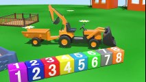 A la plaine de Jeux: Un Grand Camion. Dessin animé francais pour les enfants  Dessins Animés En Français