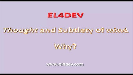 Social and united world - EL4DEV - Thought and Subtlety of mind