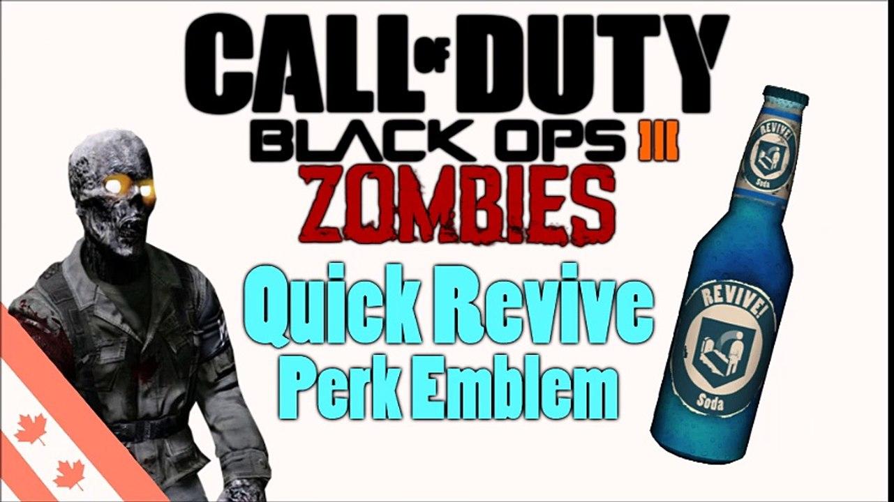Quick Revive Perk Emblem Black Ops 3 Video Dailymotion
