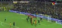 Gol de Alejamdro Donatti - Rosario Central 1 - 1 Banfield - Fecha 6 - Liga Argentina