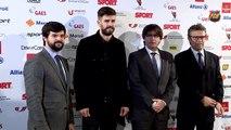 Gerard Piqué guardonat com a Millor Esportista Català 2015