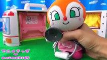 アンパンマン おもちゃ アニメ ドキンちゃん 救急車  ぽぽちゃん おもちゃ アニメ animekids アニメきっず animation Anpanman Toy Popchan ambulance