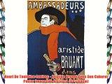 Henri De Toulouse-Lautrec - Aristide Bruant Dans Son Cabaret Póster Impresión Artística (80