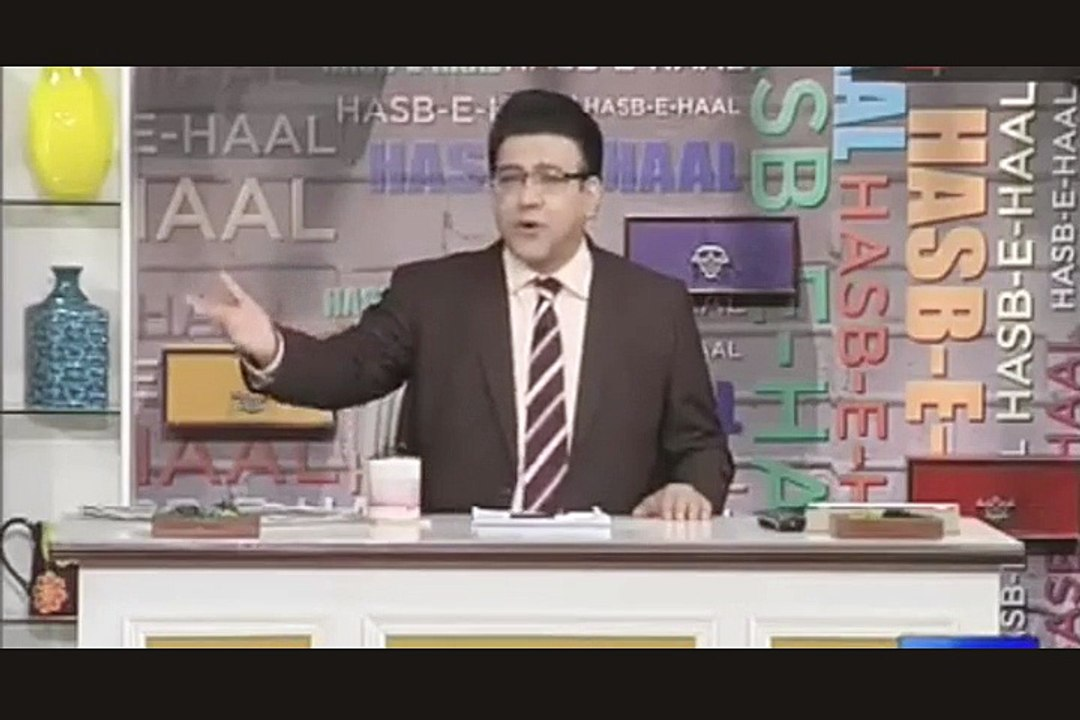 Hasb e Haal 4 March 2016 Hasb e Haal Azizi as Shehryar Khan and Najam sethi  on Asia cup 2016