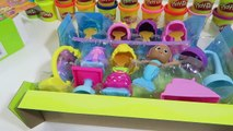 Bubble Guppies Snap og Kle frisørsalong Playset Hår Stil Konkurranse med Baymax, Peppa Gris, og Minnie!