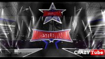 wwe HD concept | sting  undertaker entrance at wrestlemania 32