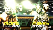 WWE Money In The Bank 2015 Official Match Card Money In The Bank Ladder Match [HD]