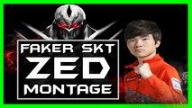 【League of Legends 2016】Faker Zed Montage Season 6 / Faker best Zed Plays LOL