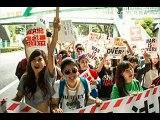 """在日!?デモ集団""""SEALDs""""の正体"""