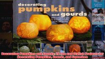 Download PDF  Decorating Pumpkins and Gourds 20 Fun and Stylish Projects for Decorating Pumpkins Gourds FULL FREE