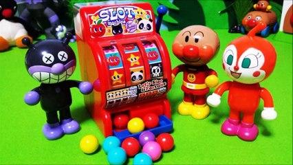 アンパンマンおもちゃアニメ❤アンパンマンスロット Anpanman Toys Animation