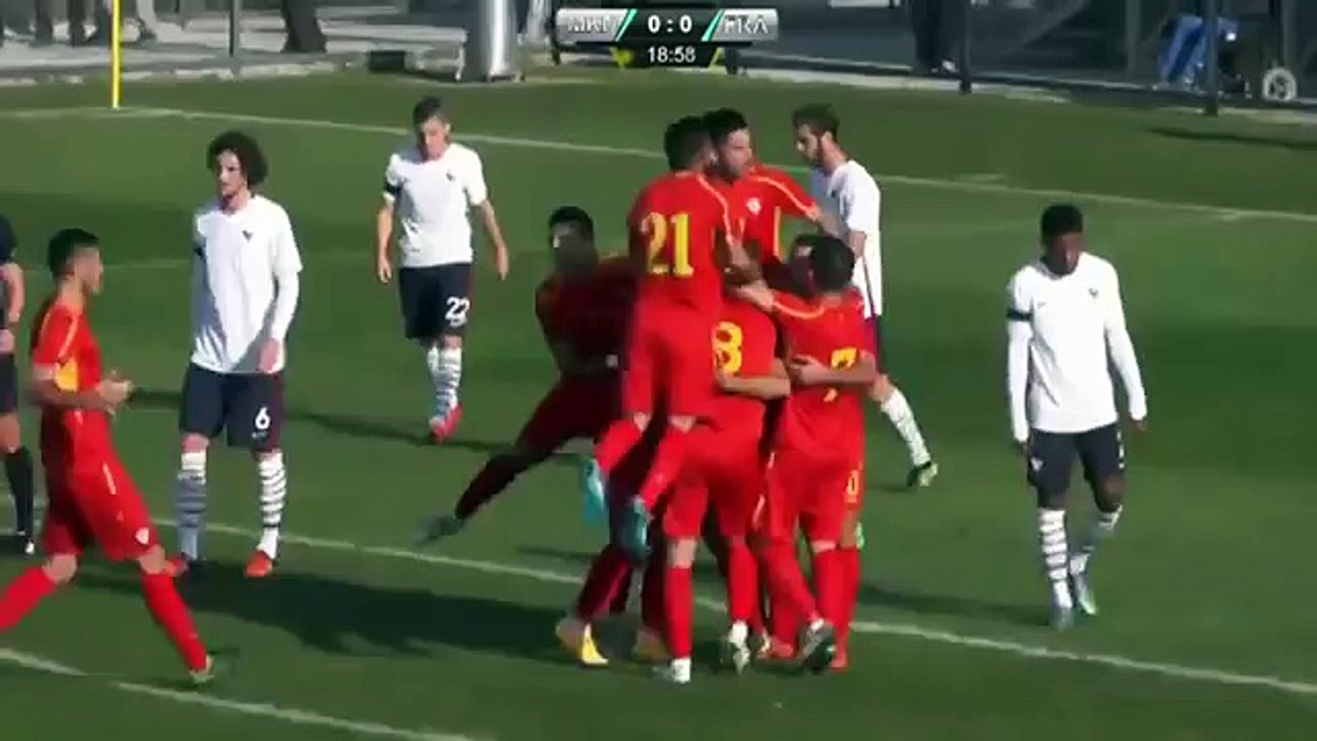 FYR Macedonia U21 vs. France U21 2 2 All Goals (UEFA U21 Championship 15 November 2015)