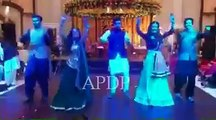 Maya Ali and Sanam Chaudhry Dancing Together on 'Gallan Goodiyaan' Song