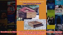 Download PDF  Creations In Wood Photo Gallery Jewelry Boxes Screens Storage Ideas Crafts Series Book FULL FREE