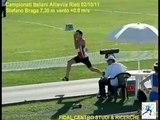 Campionati Italiani Allievi Rieti 2011 | Salto in lungo - Stefano Braga 7,30