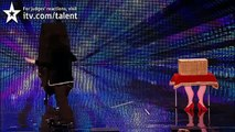Magician Hairy Baldini - Britains' Got Talent audition 2012 - UK version
