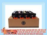 Toner-Spar-Set (cmyk) f?r HP Color Laserjet CM 1312 CM 1512 CP 1210 CP 1213 CP 1214 CP 1215