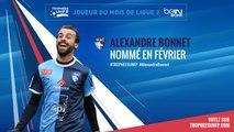 Ligue 2 / Trophées UNFP - Joueurs du mois : Alexandre Bonnet